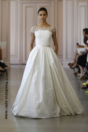 Princess Wedding dress Oscar De La Renta