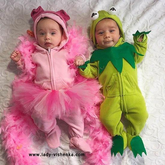 12. Halloween kostymer for babyer