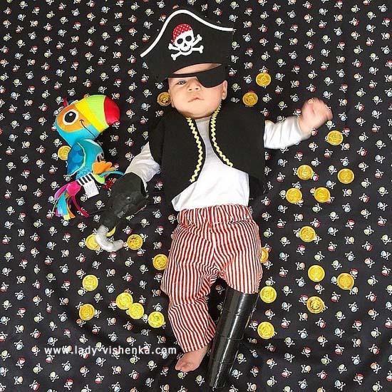 27. Halloween kostymer for babyer