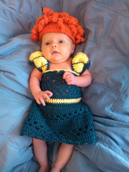 33. Halloween kostymer for babyer