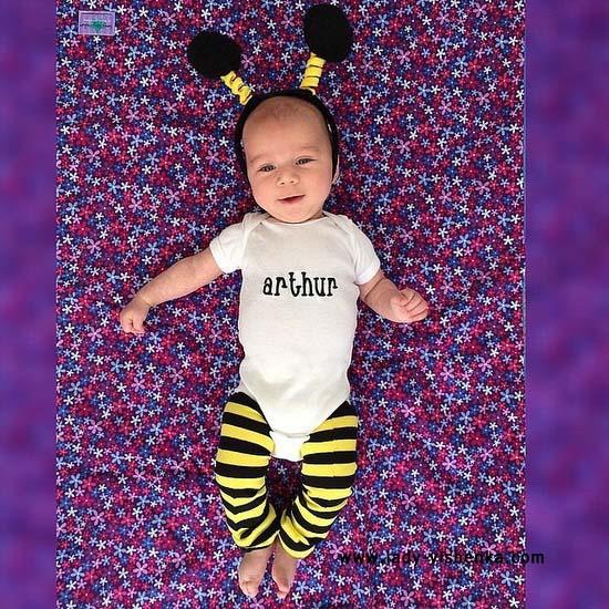 8. Halloween kostymer for babyer