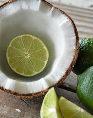 Hjemmelaget coconut body scrub