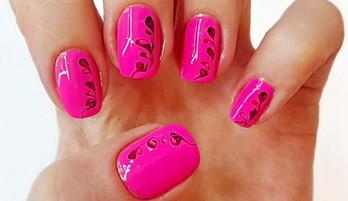 Enkel nail design for nybegynnere