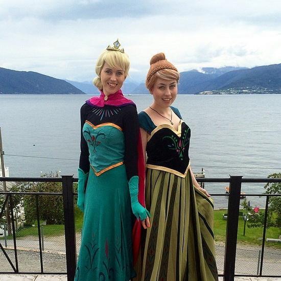 15. Frozen: Anna og Elsa