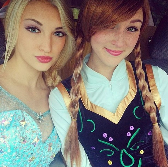 17. Frozen: Anna og Elsa