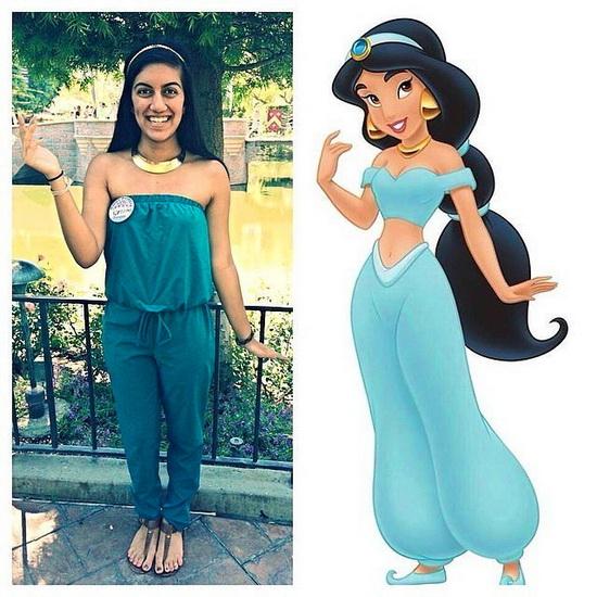 2. Kostyme voksen Jasmine