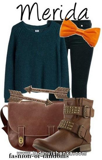 3. Merida Halloween kostyme