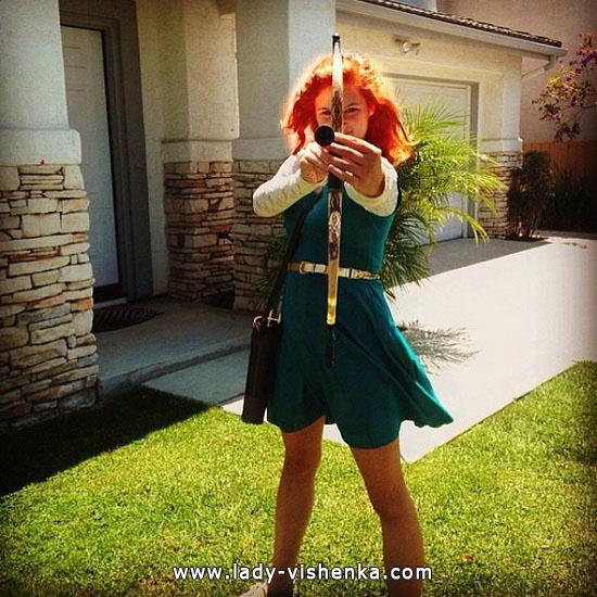 9. Merida Halloween kostyme