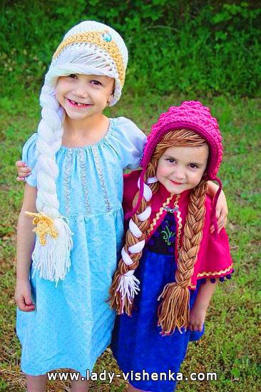 11. Kostymer for små jenter 4 år - 6 år