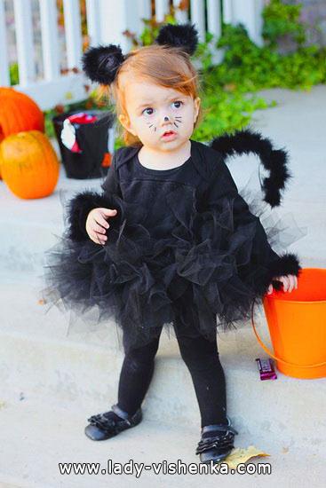1. Kostymer for små jenter fra 1 år til 3 år