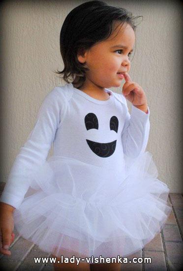 3. Kostymer for små jenter fra 1 år til 3 år