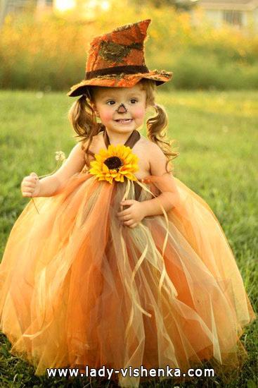 5. Kostymer for små jenter fra 1 år til 3 år