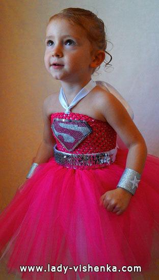 7. Kostymer for små jenter fra 1 år til 3 år