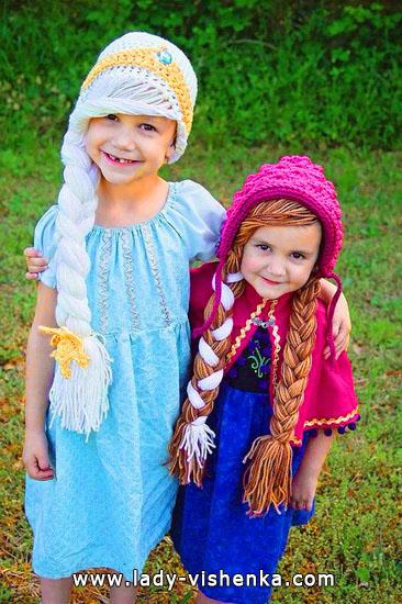8. Kostymer for små jenter fra 1 år til 3 år