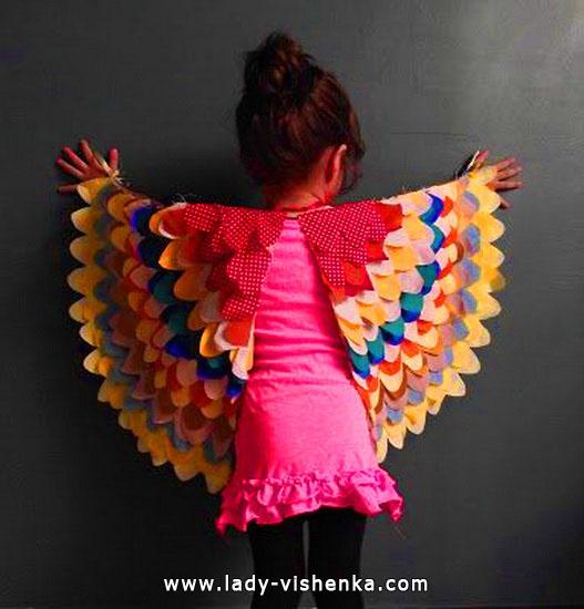 9. Kostymer for små jenter fra 1 år til 3 år