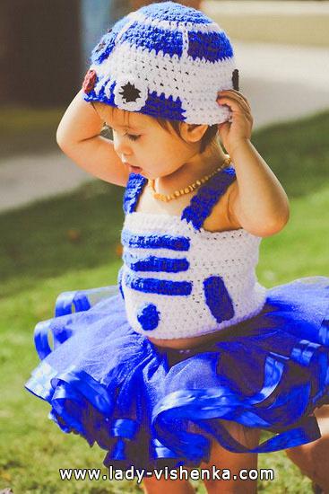19. Kostymer for små jenter fra 1 år til 3 år
