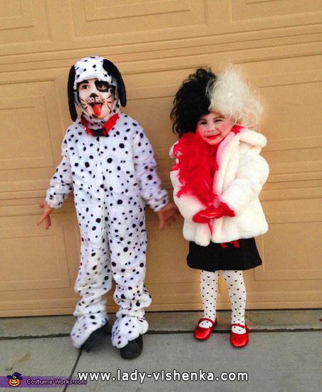 21. Kostymer for små jenter fra 1 år til 3 år