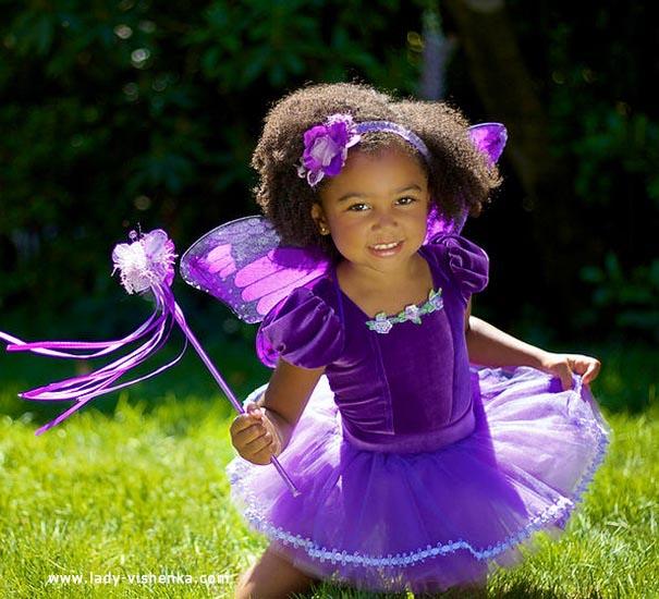 23. Kostymer for små jenter fra 1 år til 3 år