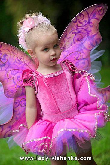 24. Kostymer for små jenter fra 1 år til 3 år