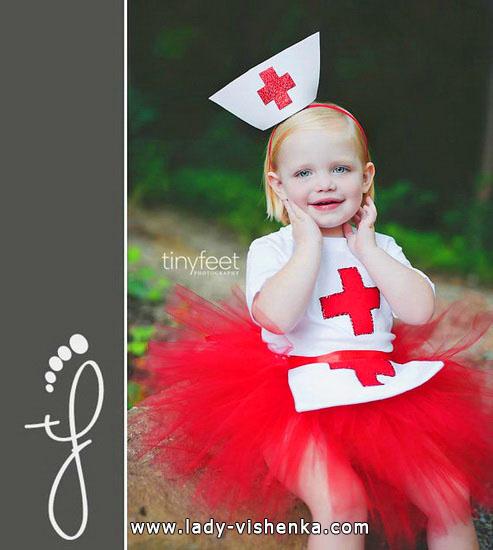 30. Kostymer for små jenter fra 1 år til 3 år