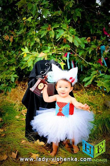 33. Kostymer for små jenter fra 1 år til 3 år