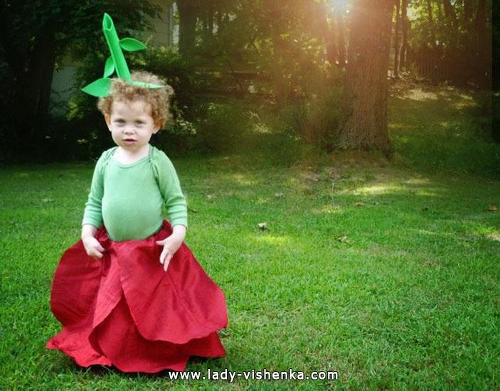 35. Kostymer for små jenter fra 1 år til 3 år