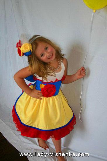 39. Kostymer for små jenter fra 1 år til 3 år