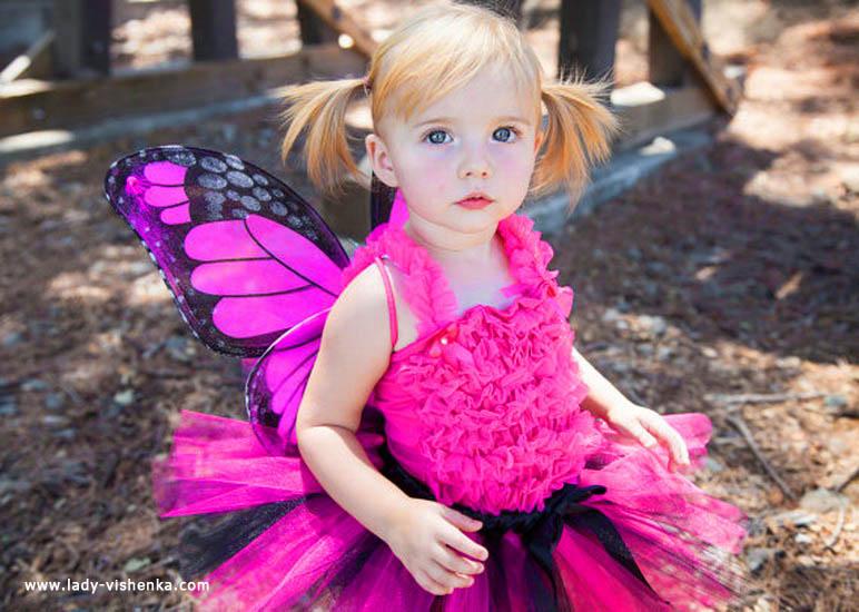 44. Kostymer for små jenter fra 1 år til 3 år
