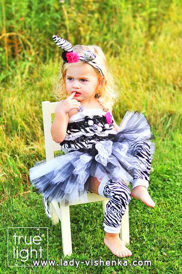 45. Kostymer for små jenter fra 1 år til 3 år