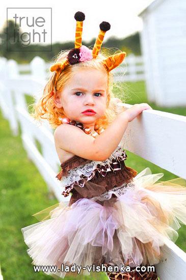 46. Kostymer for små jenter fra 1 år til 3 år