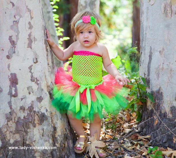 47. Kostymer for små jenter fra 1 år til 3 år