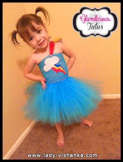 48. Kostymer for små jenter fra 1 år til 3 år