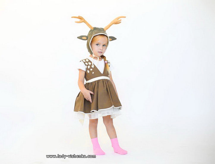 55. Kostymer for små jenter fra 1 år til 3 år