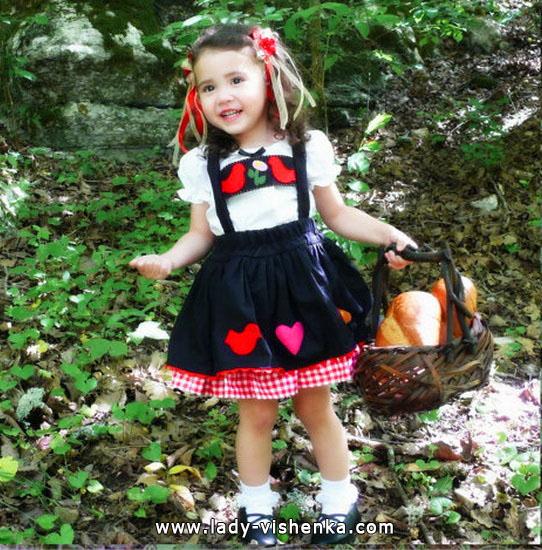 57. Kostymer for små jenter fra 1 år til 3 år