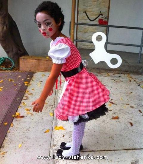 2. Kostymer for små jenter 4 år - 6 år