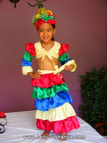 27. Kostymer for små jenter 4 år - 6 år