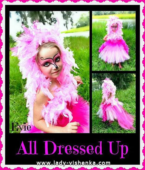 38. Kostymer for små jenter 4 år - 6 år