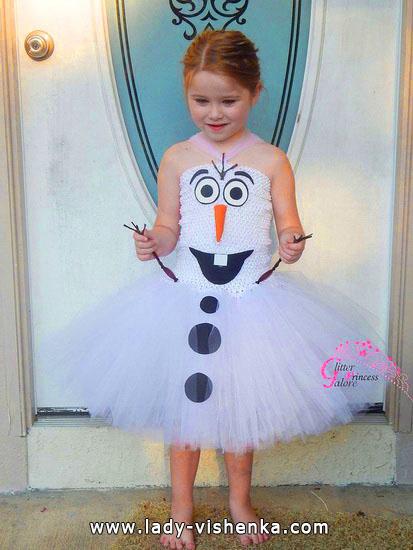 4. Kostymer for små jenter 4 år - 6 år