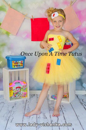 46. Kostymer for små jenter 4 år - 6 år