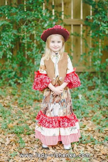 52. Kostymer for små jenter 4 år - 6 år