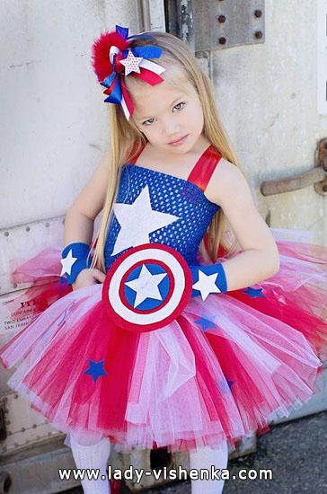 9. Kostymer for små jenter 4 år - 6 år