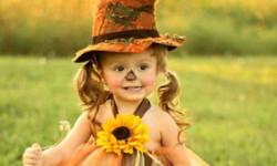 Kostymer for små jenter fra 1 år til 3 år