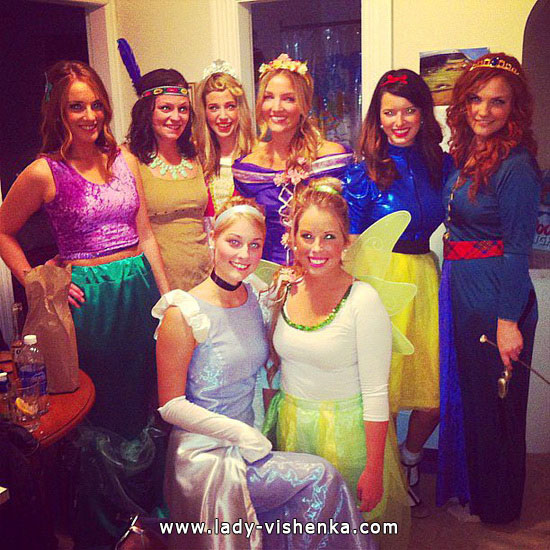 20 kostyme ideer Disney Princess Halloween