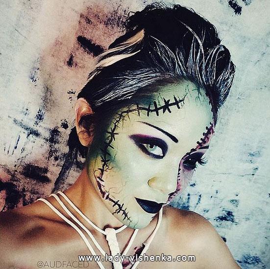 16. Halloween sminke