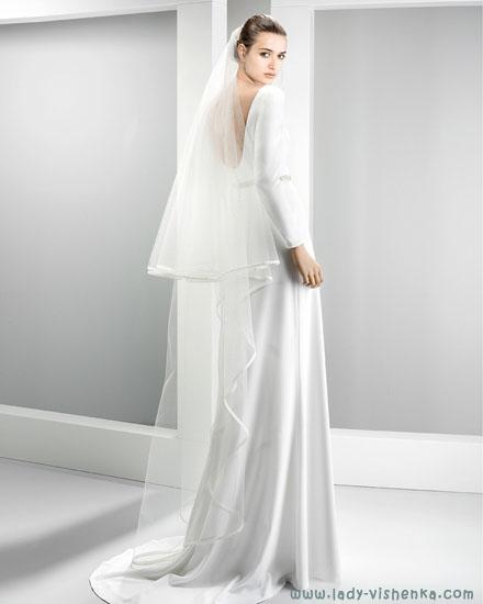 Wedding dress slør