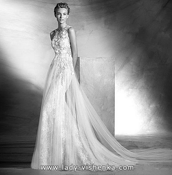 Vakker brudekjole mermaid - foto - Pronovias