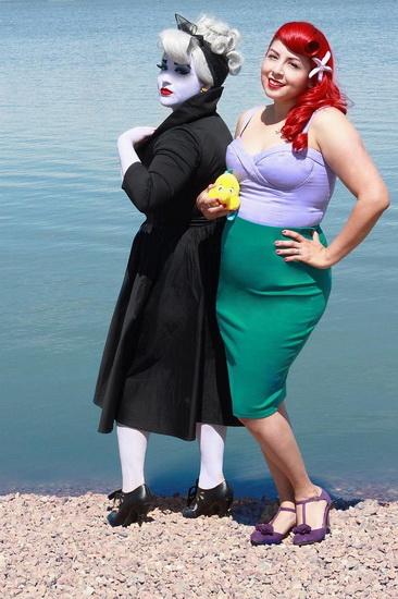 Ariel-Halloween-kostyme