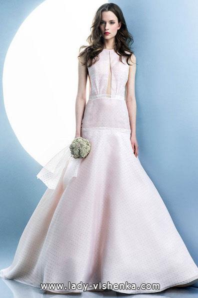 Rosa brudekjole 2016