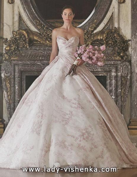 Rosa brudekjole 2016 - Angele Keveza