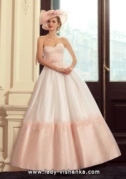 Rosa brudekjole - Tatiana Kaplun